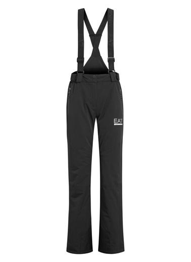 EA7 Emporio Armani  Su Ve Rüzgar Geçirmez Yalıtımlı Kayak Pantolonu Kadın Kayak Pantolonu S 6Gtp04 Tnq7Z 1200 Siyah